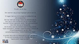 Trykk på bildet for å lese vår julehilsen!